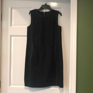 Ralph Lauren Petite Black Denim Dress NWOT